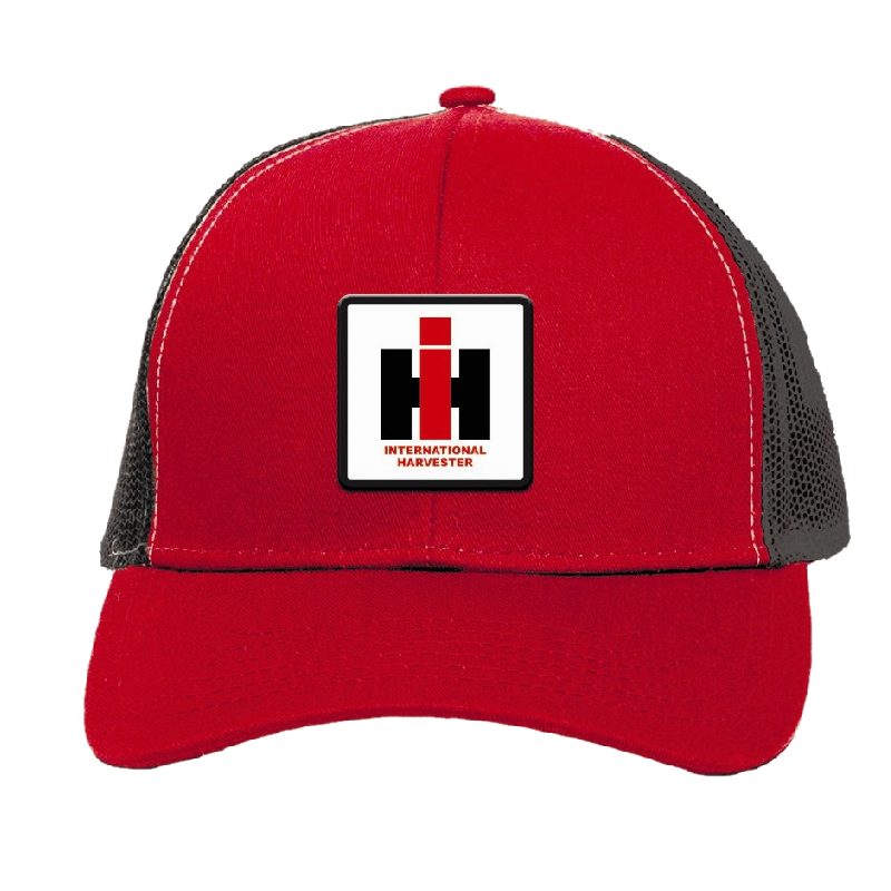 International Harvester Red and Black Ballcap