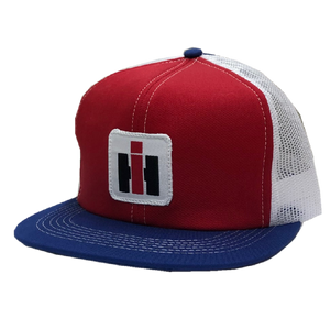 International Harvester Red, White and Blue Trucker Hat