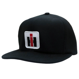 International Harvester Solid Black Trucker Hat