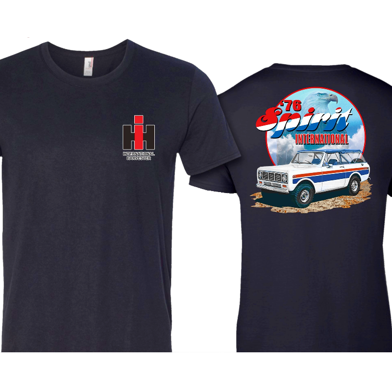 International Harvester Unisex '76 Spirit Navy Tee