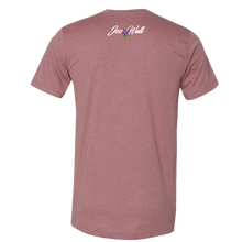 Load image into Gallery viewer, Jess Wall Heather Mauve Tee