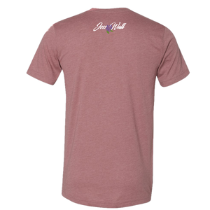 Jess Wall Heather Mauve Tee
