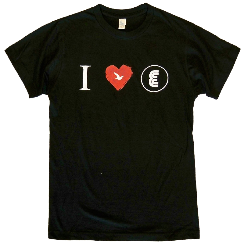 ENATION Black Tee- I Love