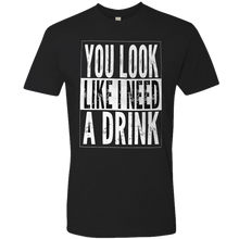 Load image into Gallery viewer, Justin Moore Black Drink Tee