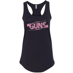 Justin Moore Guns Ladies Black Tank Top