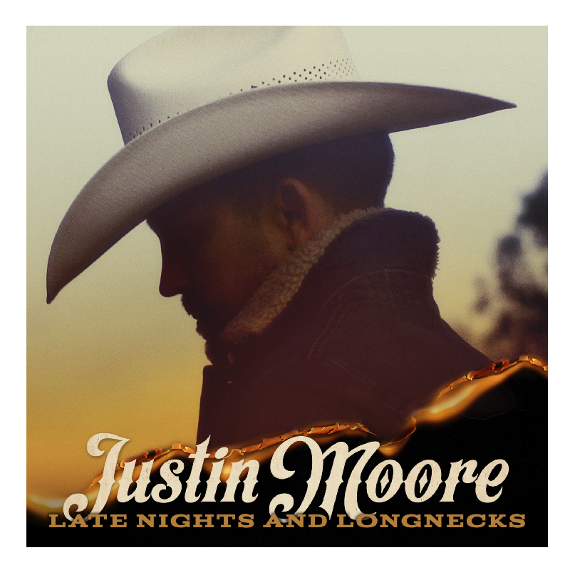 Justin Moore CD- Late Nights and Longnecks