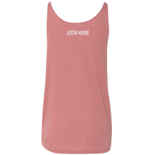 Load image into Gallery viewer, Justin Moore Mauve Flowy Tank