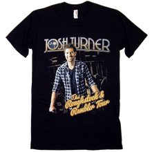 Load image into Gallery viewer, Josh Turner Roughstock & Rambler Tour Black Tee- ADULT and YOUTH sizes available!