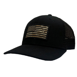 Josh Turner Camo Flag Black Ballcap