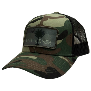 Josh Turner Camo and Black Ballcap