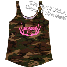 Load image into Gallery viewer, Josh Turner Ladies Camo Tank Top