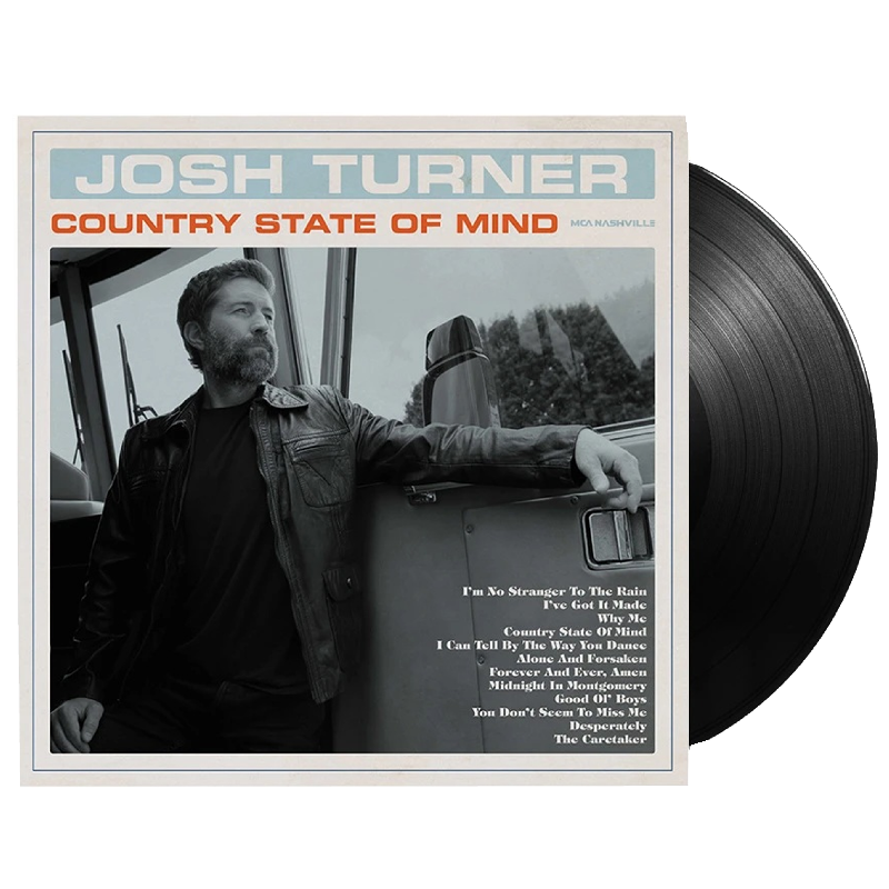 Josh Turner Vinyl- Country State of Mind