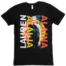 Load image into Gallery viewer, Lauren Alaina ADULT and YOUTH Black Tour Tee