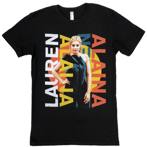 Lauren Alaina ADULT and YOUTH Black Tour Tee