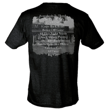 Load image into Gallery viewer, Logan Mize Heather Graphite Album Cover Tee