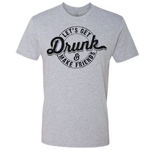 Load image into Gallery viewer, Love and Theft Heather Grey Drunk Tee