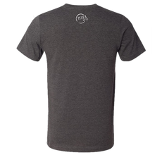 Load image into Gallery viewer, Mira Goto Dark Grey Heather Radio Review Tee