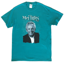 Load image into Gallery viewer, Mel Tillis Unisex Teal Photo Tee