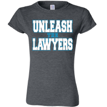 Load image into Gallery viewer, Nancy Grace Ladies Heather Grey Tee
