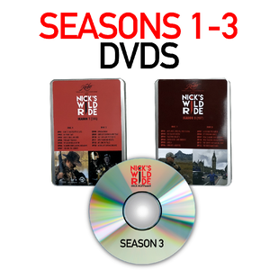 Nick's Wild Ride Season 1-3 DVD Set