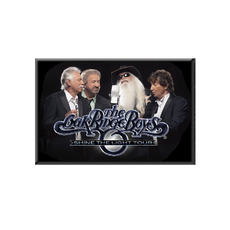 Oak Ridge Boys Shine the Light Magnet