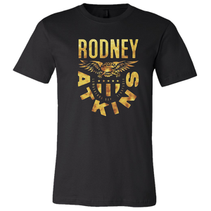 Rodney Atkins Black Gold Eagle Tee