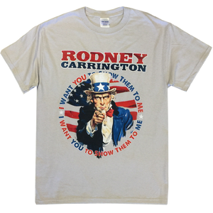 Rodney Carrington Light Grey Show Them To Me Tee