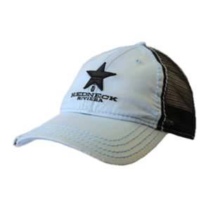 Redneck Riviera Baby Blue and Black Ballcap