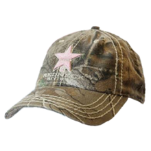 Load image into Gallery viewer, Redneck Riviera Camo Ballcap with Pink Logo