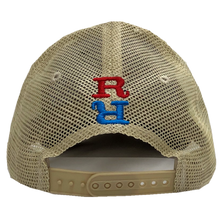 Load image into Gallery viewer, Redneck Riviera Grey and Kahki Ballcap