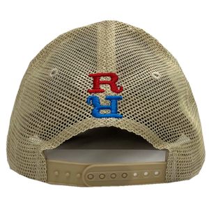 Redneck Riviera Grey and Kahki Ballcap