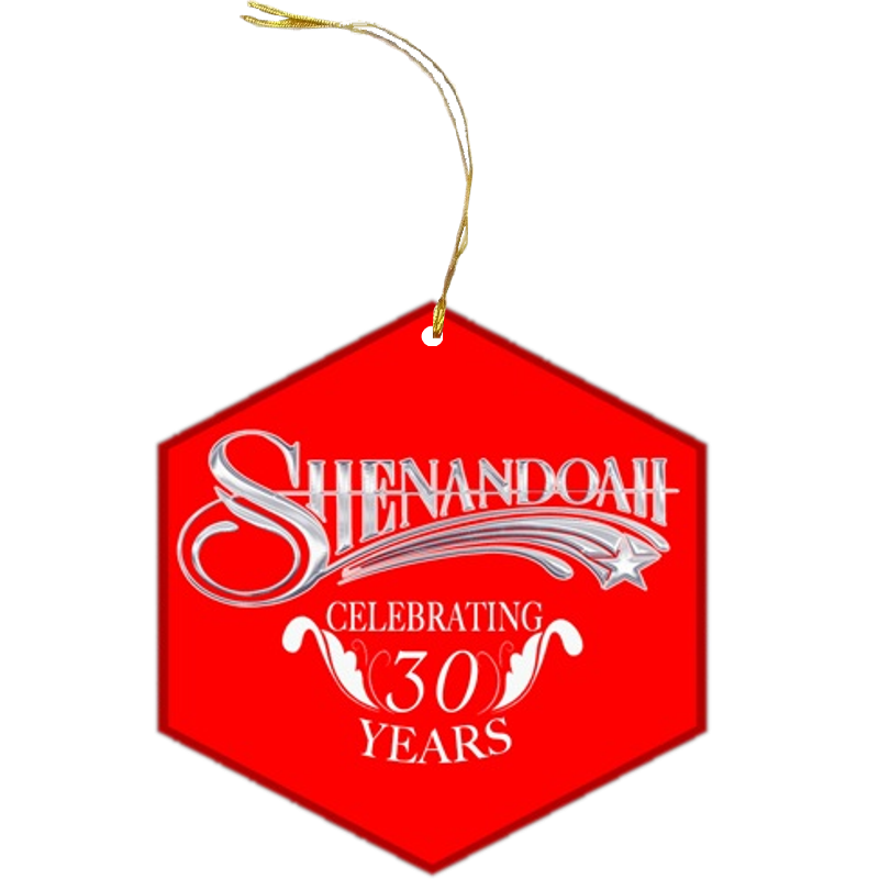 Shenandoah Christmas Ornament
