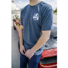 Load image into Gallery viewer, SpeedKore Indigo Logo Tee