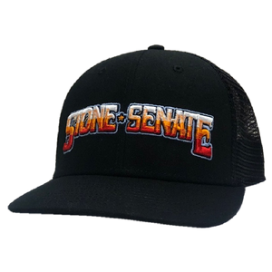Stone Senate Black Ballcap