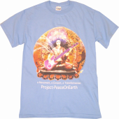Project Peace Carolina Blue Tee