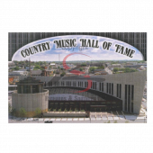 Nashville Postcard Pack- Aerial Country Music Hall of Fame