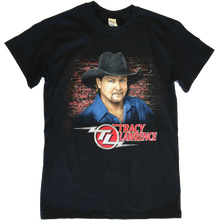 Load image into Gallery viewer, Tracy Lawrence Black Close Up Photo Tee
