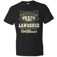 Load image into Gallery viewer, Tracy Lawrence Black Caution Tee