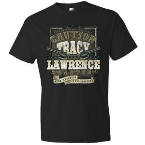 Tracy Lawrence Black Caution Tee