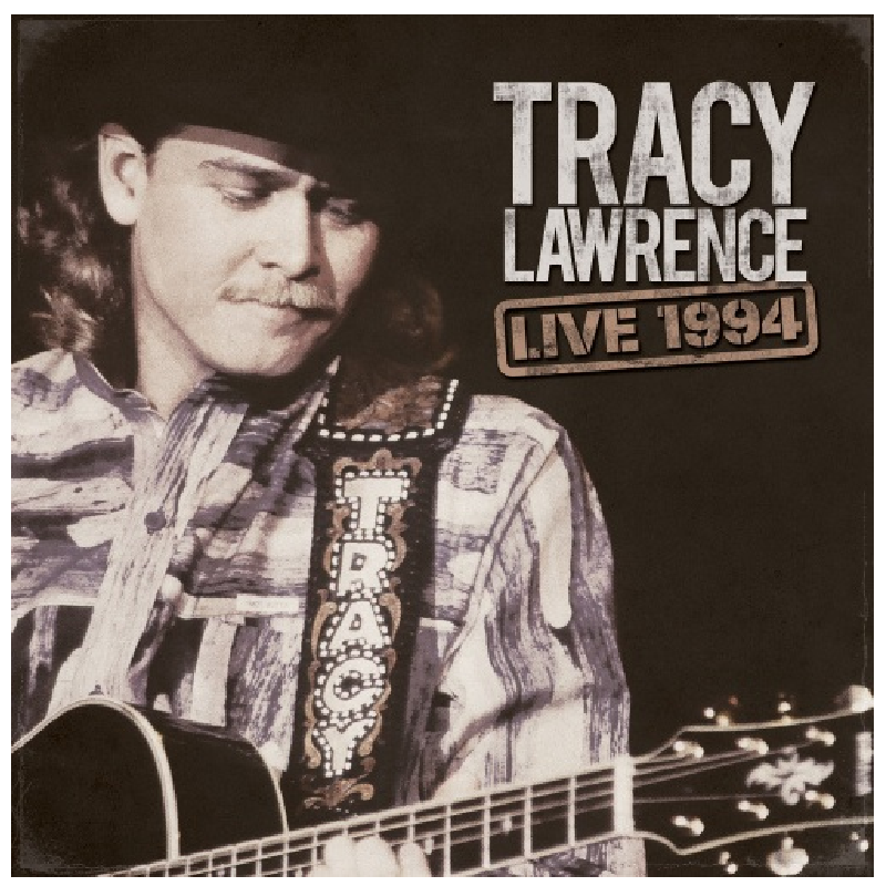 Tracy Lawrence CD- Live 1994