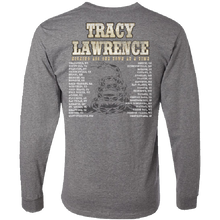Load image into Gallery viewer, Tracy Lawrence Long Sleeve Oxford Grey Tee