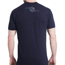 Load image into Gallery viewer, Tracy Lawrence Tri Navy Flag Tee