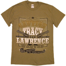 Load image into Gallery viewer, Tracy Lawrence Prairie Dust WANTED Tee