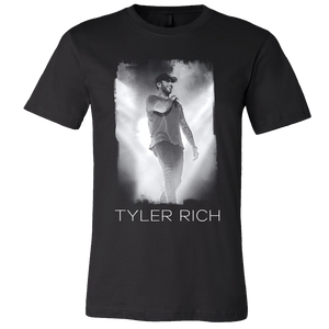 Tyler Rich Black Heather Photo Tee
