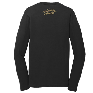 Travis Tritt Long Sleeve Black Tee
