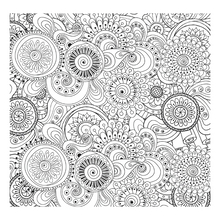 Load image into Gallery viewer, Peaceful Paisleys Artist's Colouring Book