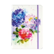 "Load image into Gallery viewer, Hydrangeas Journal - 5"" x 7"""