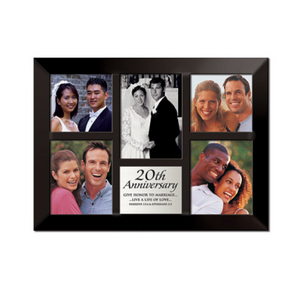20th Anniversary Photo Frame Collage