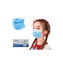 Load image into Gallery viewer, 3-Ply Disposable Children's Face Mask – Pack of 10