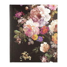 "Load image into Gallery viewer, Midnight Floral Journal - 7"" x 9"""